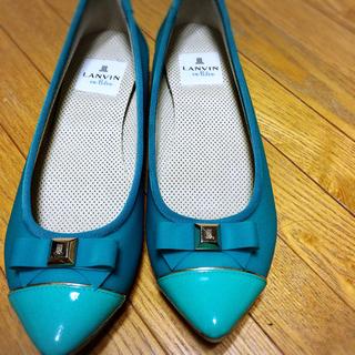 ランバンオンブルー(LANVIN en Bleu)のレインシューズ(レインブーツ/長靴