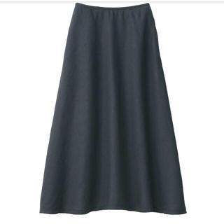 ムジルシリョウヒン(MUJI (無印良品))の無印良品 新品未使用フレアスカート(ひざ丈スカート)