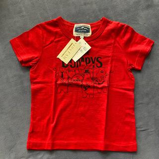 エニィファム(anyFAM)のTシャツ 110 男の子(赤) anyFAM(Tシャツ/カットソー)