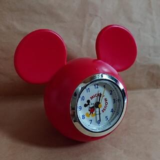 ディズニー(Disney)の【新品】ミッキー 置時計(置時計)