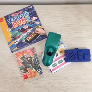 マクドナルド(マクドナルド)のマック ハッピーセット プラレール はやぶさ DVD シンカリオンカード(電車のおもちゃ/車)