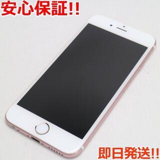 アイフォーン(iPhone)の美品 SIMフリー iPhone6S 32GB ローズゴールド (スマートフォン本体)