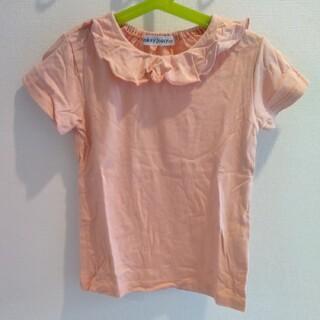 ドンキージョシー(Donkey Jossy)の120サイズ フリルコットンTシャツ(Tシャツ/カットソー)