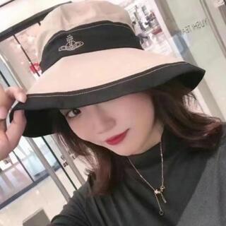 ヴィヴィアンウエストウッド(Vivienne Westwood)の新品タグ付 3色あり ヴィヴィアンvivienneログ入り UV対策帽子(ニット帽/ビーニー)