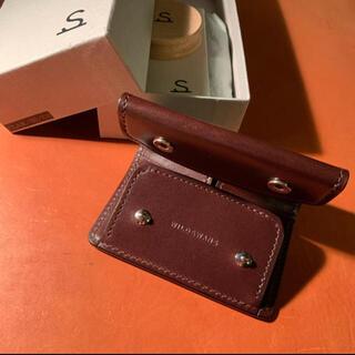 ガンゾ(GANZO)のWILDSWANS CLAM ワイルドスワンズ クラム(折り財布)