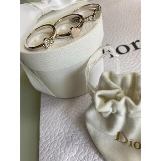 ディオール(Dior)のディオール Dior  ハートリング3点セット(リング(指輪))