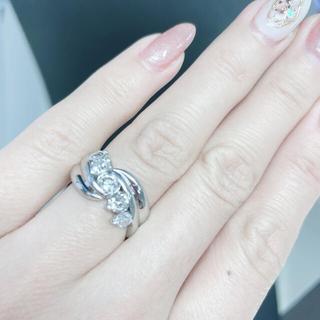 pt900 ダイヤモンド1ctオーバー 値下げ!(リング(指輪))