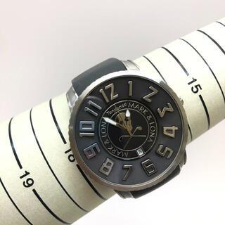 テンデンス(Tendence)の ガリバーラウンド マークアンドロナコラボ SS/シリコンラバー グレー(腕時計(アナログ))