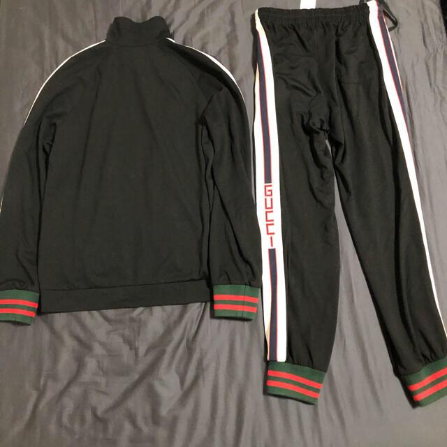 Gucci(グッチ)の期間限定格安 GUCCI ジャージ 上下セット トラック パンツ ジャケット メンズのトップス(ジャージ)の商品写真