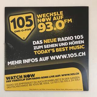 スイス ラジオ Best of 105 Now スイスドイツ語(ポップス/ロック(洋楽))