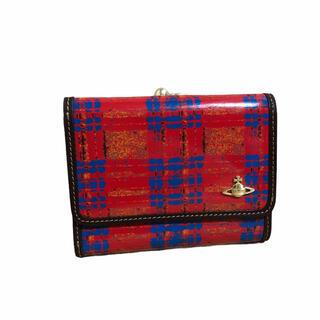 Vivienne Westwood - 貴重 レア 極美品 ヴィヴィアンウエストウッド がま口 二つ折り財布 チェック