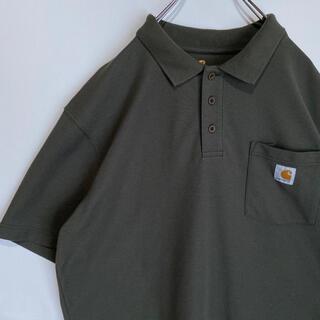 カーハート(carhartt)のカーハート Carhartt ポロシャツ 希少  Tシャツ 古着 Lサイズ(ポロシャツ)