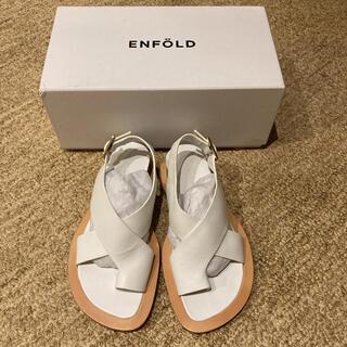エンフォルド(ENFOLD)のENFOLD エンフォルド トング サンダル 新品未使用 36(サンダル)