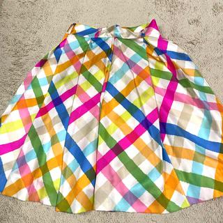 ケイトスペードニューヨーク(kate spade new york)のケイトスペード カラフルスカート (ひざ丈スカート)