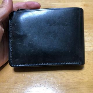 ホワイトハウスコックス(WHITEHOUSE COX)のASHDOWN WORKSHOP コードバン 二つ折り財布 イギリス製 (折り財布)