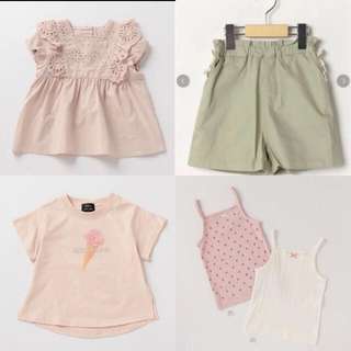 プティマイン(petit main)の今季 プティマイン チュニック Tシャツ 肌着 ショートパンツ(Tシャツ/カットソー)
