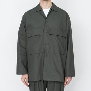 COMOLI - Wooly Cotton MilitaryJacket KHAKIグラフペーパー