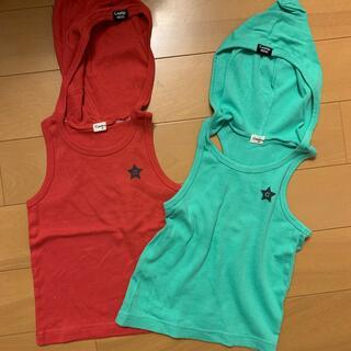 コンビミニ(Combi mini)のタンクトップ 二枚セット(Tシャツ/カットソー)