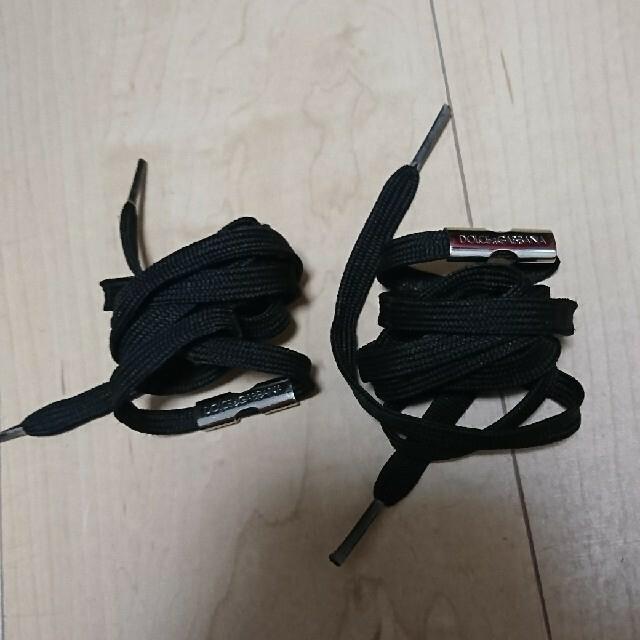 DOLCE&GABBANA(ドルチェアンドガッバーナ)のDOLCE&GABBANA  黒 靴ひも その他のその他(その他)の商品写真