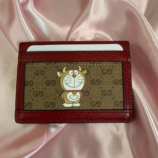 グッチ(Gucci)の新品未使用 正規品 Gucci ドラえもん カードケース(名刺入れ/定期入れ)