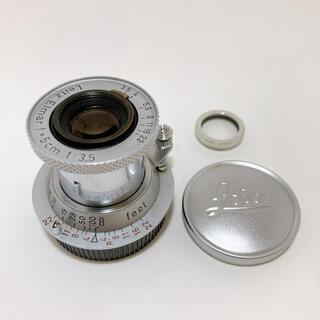 ライカ(LEICA)のLeica Elmar 5cm(50mm) f3.5 L (赤エルマー)(レンズ(単焦点))