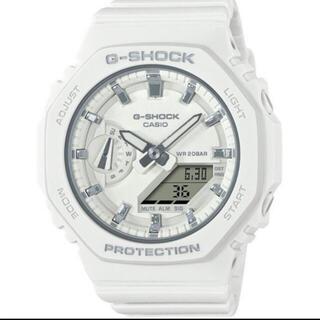 ジーショック(G-SHOCK)のG-SHOCK GMA-S2100-7AJF カシオーク 白(腕時計(アナログ))