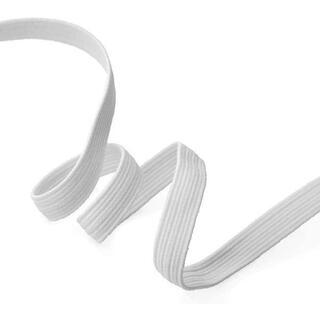 ゴムひも 6mm×100m マスク 手作りゴム ハンドメイド 裁縫 乳白色(その他)