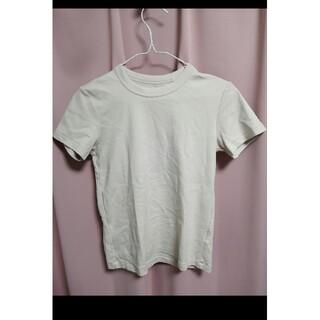 ユニクロ ベージュ Tシャツ(Tシャツ(長袖/七分))