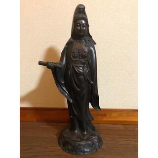 高村光雲 観音菩薩像 銅製(彫刻/オブジェ)