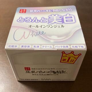 ノエビア(noevir)の豆乳イソフラボン とろんと濃ジェル 薬用美白 100g なめらか本舗(オールインワン化粧品)