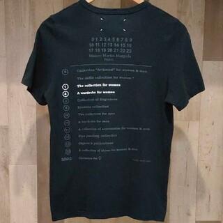 マルタンマルジェラ(Maison Martin Margiela)のMaison Martin Margiela カレンダータグ Tシャツ(Tシャツ(半袖/袖なし))