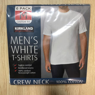 コストコ(コストコ)のコストコ カークランド メンズTシャツ M 6枚組(Tシャツ/カットソー(半袖/袖なし))