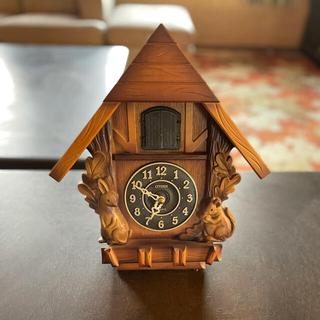 シチズン(CITIZEN)のシチズン 鳩柱時計(掛時計/柱時計)