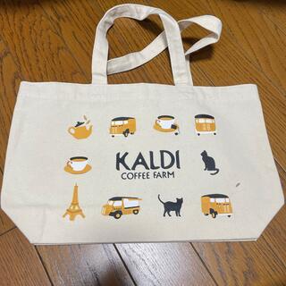 カルディ(KALDI)のカルディ トートバック 猫と紅茶(トートバッグ)