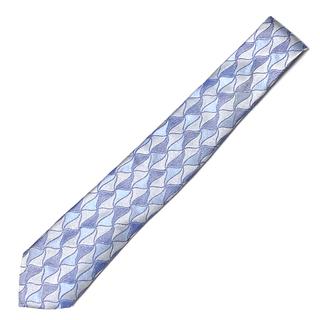 ARMANI COLLEZIONI - 【美品】ARMANI COLLEZIONI ネクタイ イタリア製 織柄 ブルー