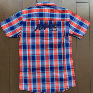 トミーヒルフィガー(TOMMY HILFIGER)のトミーヒルフィガー  半袖シャツ 120〜130㎝ サイズ7(ブラウス)
