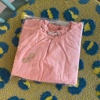 ミナペルホネン(mina perhonen)のミナペルホネン choucho kidsカットソー 90cm(Tシャツ/カットソー)