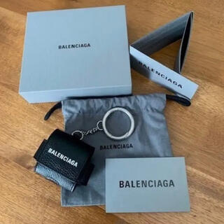 バレンシアガ(Balenciaga)のBALENCIAGA EARPODS ipod PRO  ケース(ストラップ/イヤホンジャック)