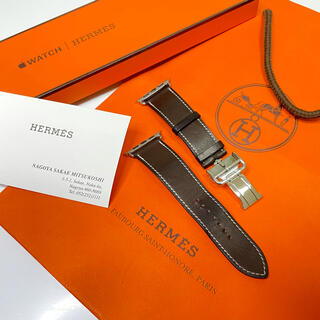 エルメス(Hermes)の【美品・週末値下げ】AppleWatch Hermès ディプロイアントバックル(レザーベルト)