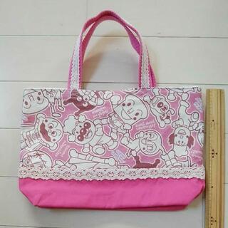 アンパンマン(アンパンマン)のアンパンマン トートバッグ ピンク おでかけバッグ(バッグ/レッスンバッグ)