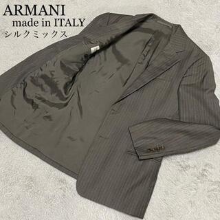 アルマーニ コレツィオーニ(ARMANI COLLEZIONI)の☆高級ライン☆シルク アルマーニコレツォーニ ビジネス テーラードジャケット(テーラードジャケット)