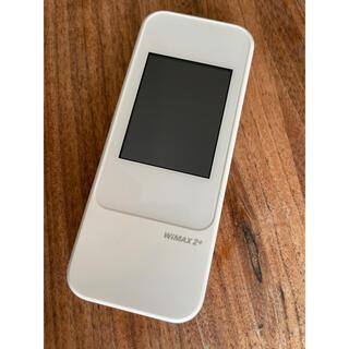エーユー(au)のau  Wi-Fi  ルーター Speed Wi-Fi NEXT W04(PC周辺機器)