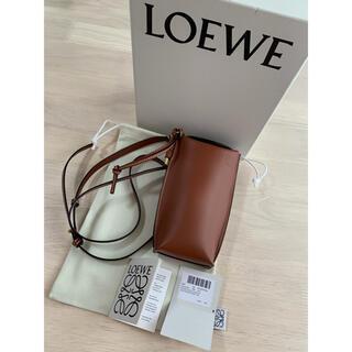 ロエベ(LOEWE)の正規未使用品 LOEWE ロエベ Gate Pocket ラスティーカラー(ショルダーバッグ)