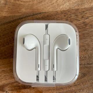 アップル(Apple)の新品 iPhone  純正 イヤホン Apple(ヘッドフォン/イヤフォン)
