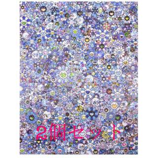 zingaro SKULLS & FLOWERS BLUE パズル 村上隆(その他)