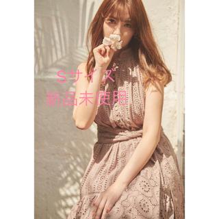 スナイデル(snidel)のherlipto Lace-trimmed Belted Dress(ロングワンピース/マキシワンピース)