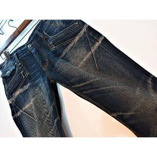 ニコルクラブフォーメン(NICOLE CLUB FOR MEN)のニコルクラブフォーメン♪濃紺♪デザインジーンズ♪ウエスト80cm♪2269B(デニム/ジーンズ)