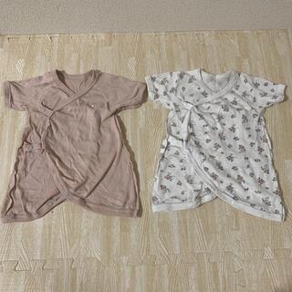 プティマイン(petit main)の新生児肌着50センチ(肌着/下着)