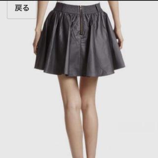 ローリーズファーム(LOWRYS FARM)のレザースカート♡ローリーズファーム(ミニスカート)