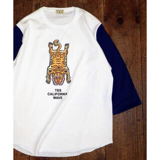 Ron Herman - TES エンドレスサマー CALIFORNIA WAVE 七分袖Tシャツ XL